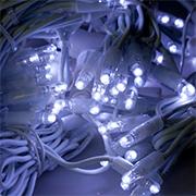 Светодиодные занавесы ПВХ провод