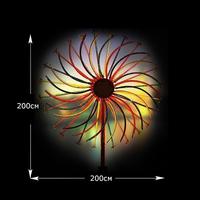 Световой фейерверк Фортуна 2х2м